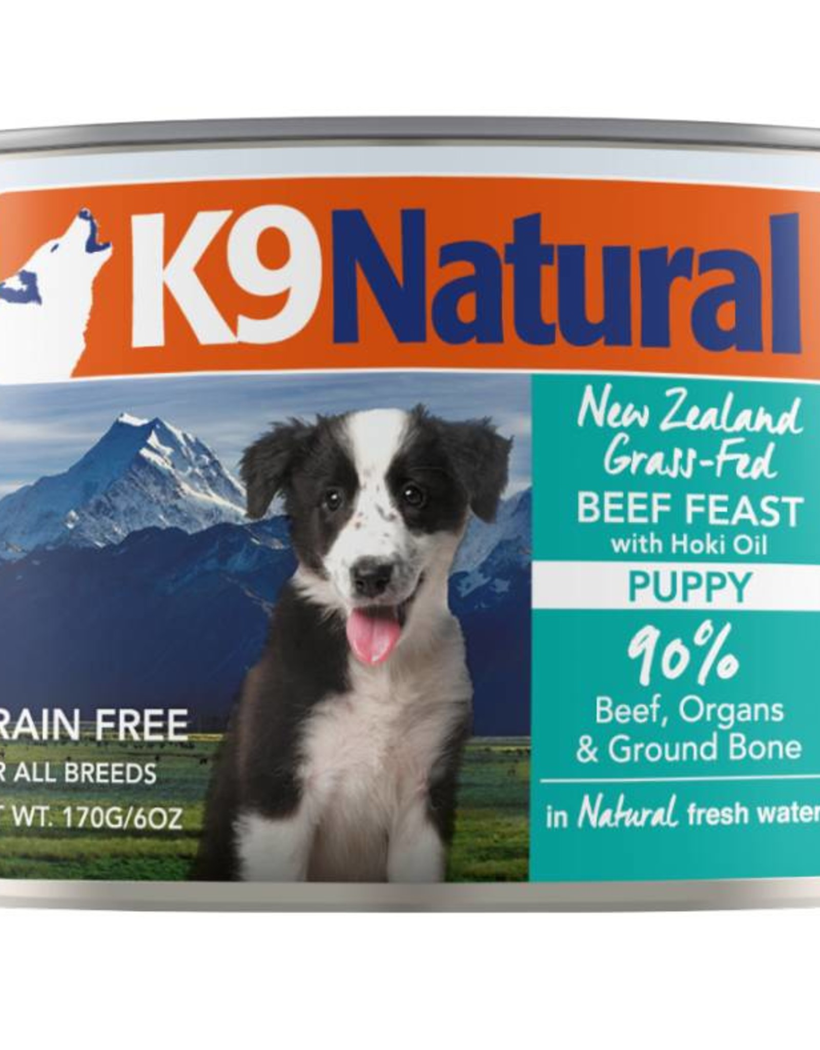 K9 Natural K9 Natural Puppy Beef & Hoki Feast Can