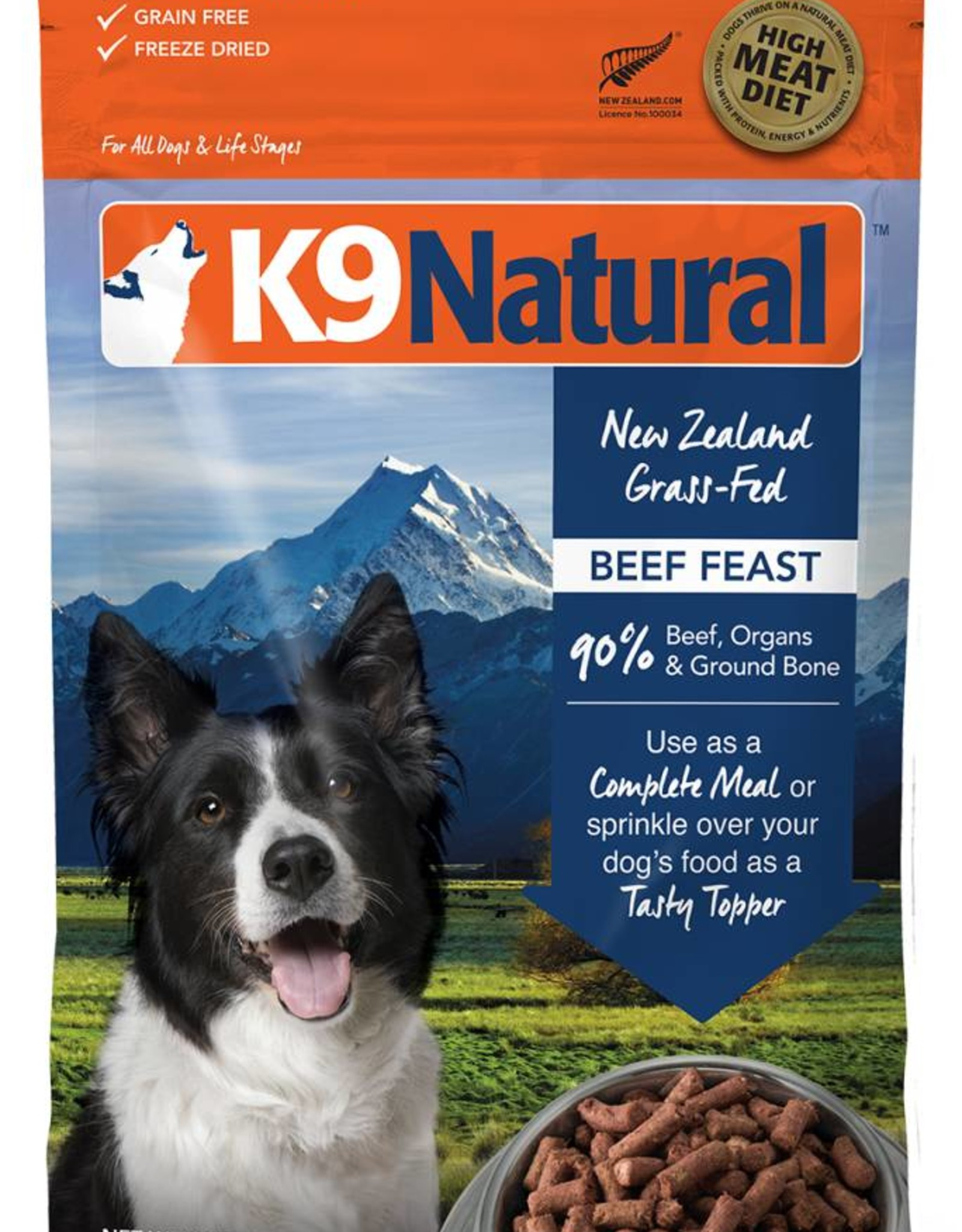 K9 Natural K9 Natural Freeze-Dried Beef Feast