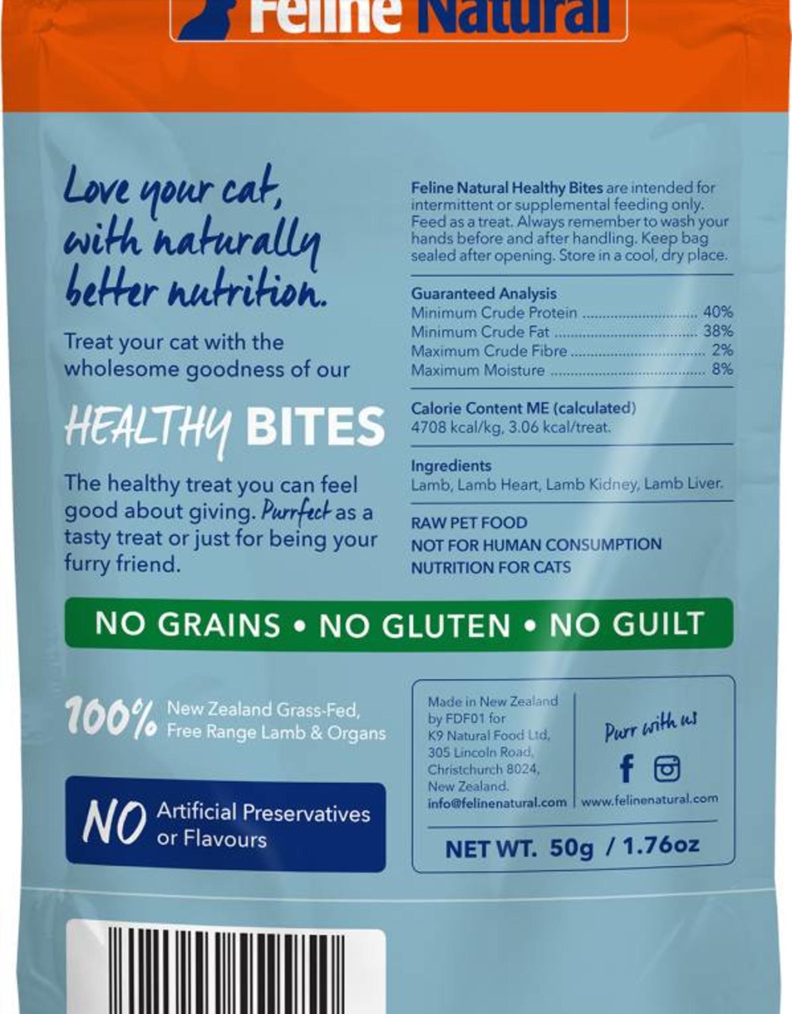 K9 Natural Feline Natural Lamb Healthy Bites for Cats