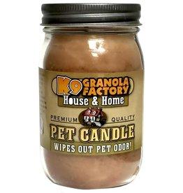 K9 Granola Factory Buttermutt Pancakes Pet Odor Eliminator Candle