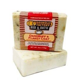 K9 Granola Factory Goat's Milk Herbal Bath Bar - Dandruff & Flakey Coat