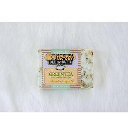 K9 Granola Factory Goat's Milk Herbal Bath Bar - Green Tea