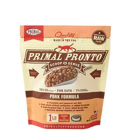 Primal Pet Food Primal Feline Raw Frozen Pronto Pork 1lb