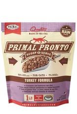 Primal Pet Food Primal Feline Raw Frozen Pronto Turkey 1lb