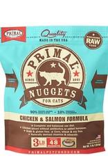 Primal Pet Food Primal Feline Raw Frozen Chicken & Salmon Formula 3lb