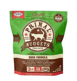 Primal Pet Food SALE - Primal Feline Raw Frozen Duck Formula 3lb