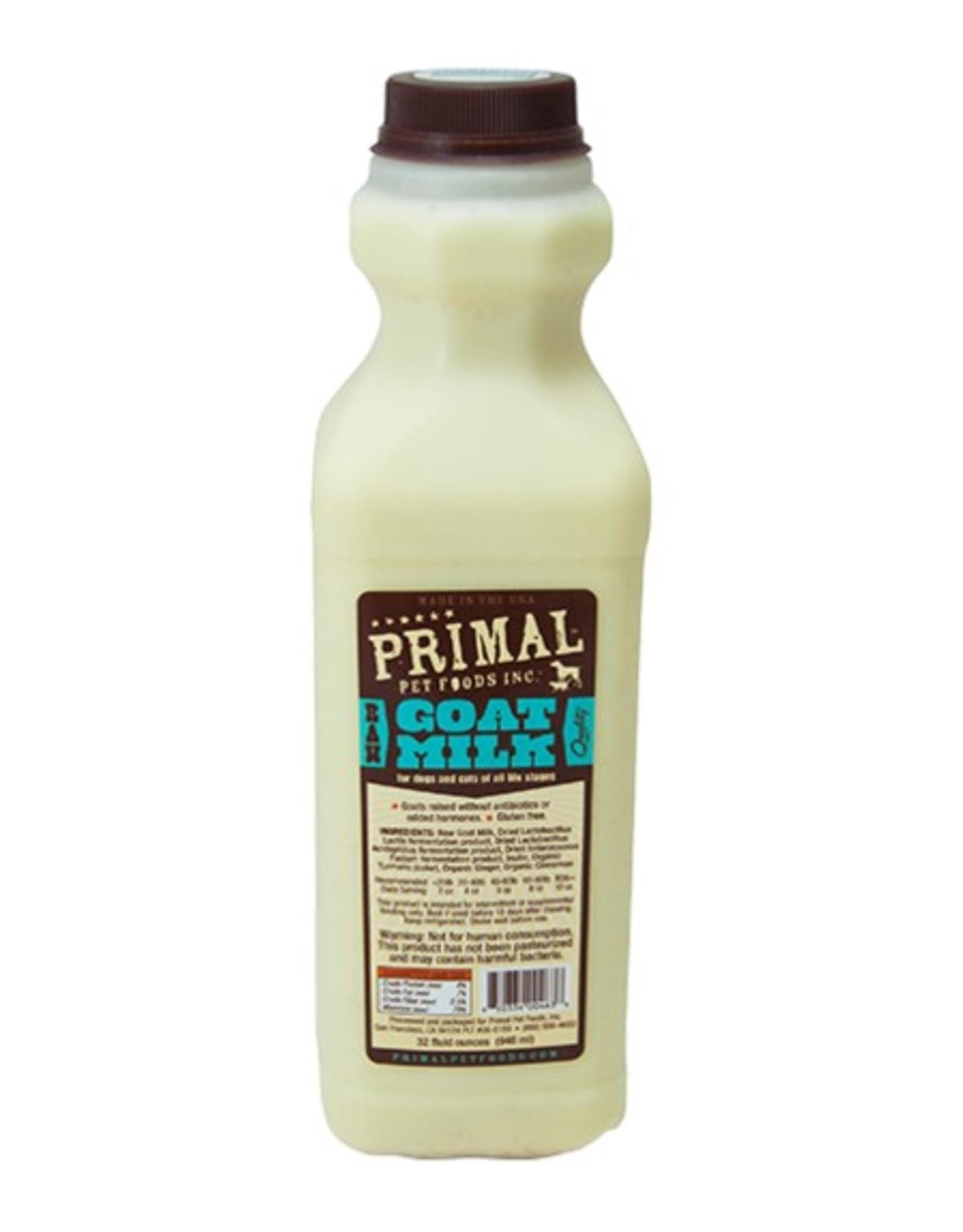 Primal Pet Food Primal Frozen Raw Goat Milk
