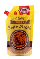 Primal Pet Food Primal Frozen Beef Bone Broth 20oz