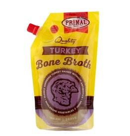 Primal Pet Food Primal Frozen Turkey Bone Broth 20oz