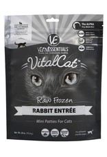 Vital Essentials Vital Essentials Cat Frozen Rabbit Mini Patties 28oz