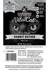 Vital Essentials Vital Essentials Cat Frozen Rabbit Tub 14oz