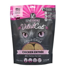 Vital Essentials Vital Essentials Cat Freeze-Dried Chicken Mini Patties 8oz