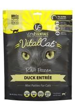 Vital Essentials Vital Essentials Cat Freeze-Dried Duck Mini Patties 8oz