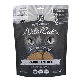 Vital Essentials Vital Essentials Cat Freeze-Dried Rabbit Mini Patties 8oz