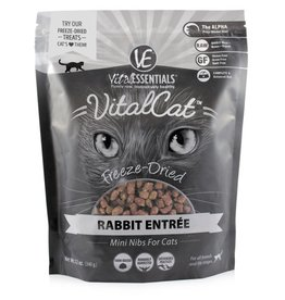 Vital Essentials Vital Essentials Cat Freeze-Dried Rabbit Mini Nibs 12oz