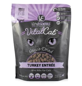 Vital Essentials Vital Essentials Cat Freeze-Dried Turkey Mini Nibs 12oz