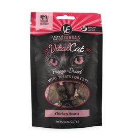 Vital Essentials Vital Essentials Cat Treats Chicken Hearts