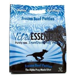 Vital Essentials Vital Essentials Dog Raw Frozen Patties Beef 6 lb