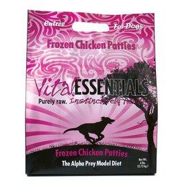 Vital Essentials SALE - Vital Essentials Dog Raw Frozen Patties Chicken 6lb