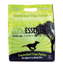 Vital Essentials Vital Essentials Dog Raw Frozen Patties Beef Tripe 6lb