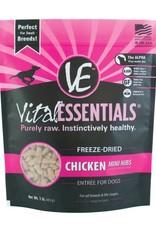 Vital Essentials Vital Essentials Dog Freeze-Dried Chicken Mini Nibs 1lb