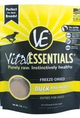 Vital Essentials Vital Essentials Dog Freeze-Dried Duck Mini Patties 1lb