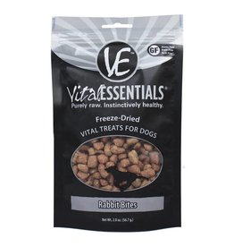 Vital Essentials Vital Essentials Dog Treat Rabbit Bites 2.0oz