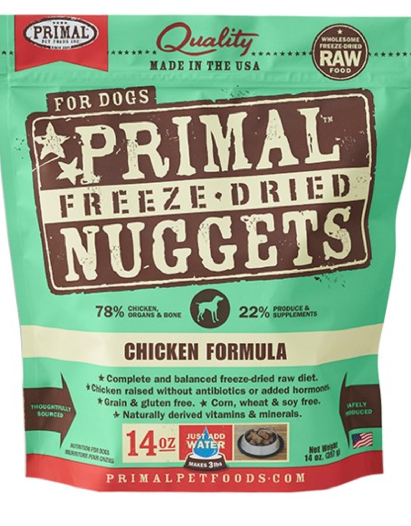 Primal Pet Food Primal Canine Freeze-Dried Raw Chicken 14oz