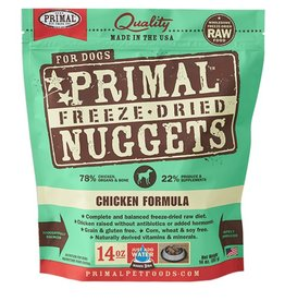 Primal Pet Food Primal Canine Freeze-Dried Raw Chicken 14oz