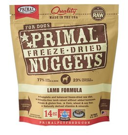 Primal Pet Food Primal Canine Freeze-Dried Raw Lamb 14oz