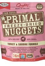 Primal Pet Food Primal Canine Freeze-Dried Raw Turkey & Sardine 14oz