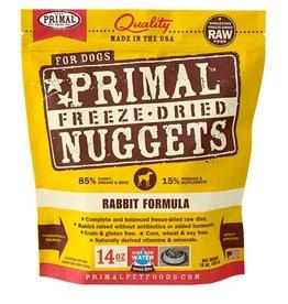 Primal Pet Food Primal Canine Freeze-Dried Raw Rabbit 14oz
