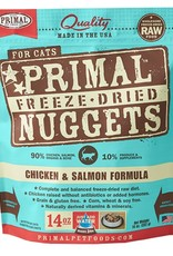 Primal Pet Food SALE - Primal Feline Freeze-Dried Raw Chicken & Salmon 14oz