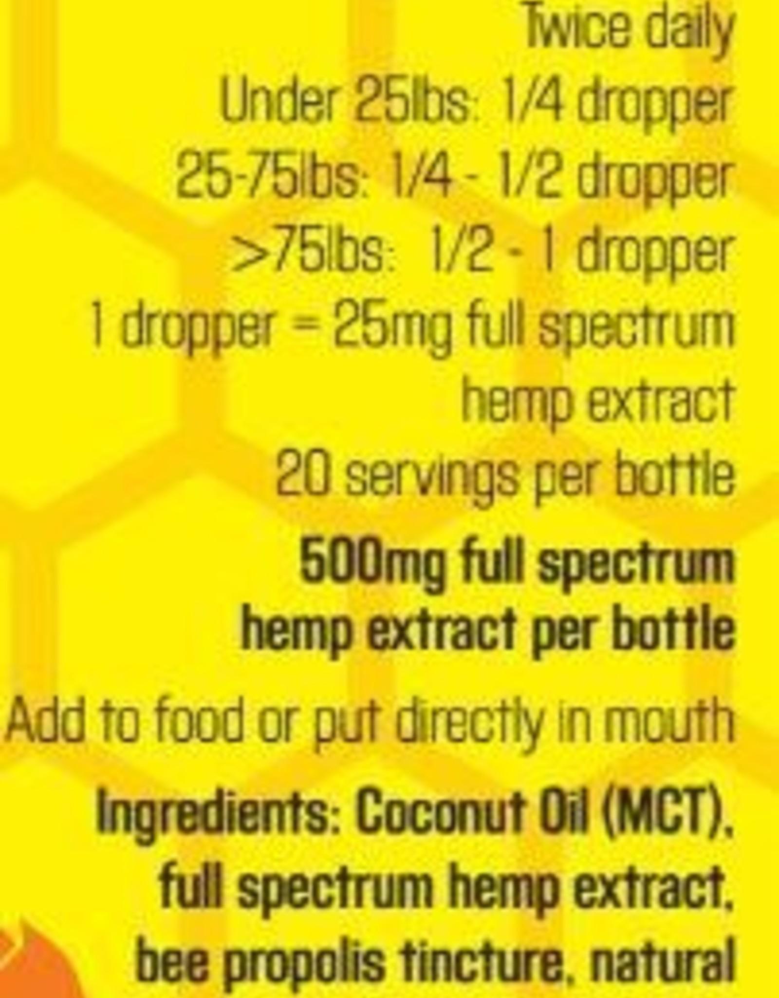 Colorado Hemp Honey Colorado Hemp Honey Crazy Be Gone CBD Oil 500mg Full Spectrum