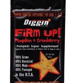 Diggin Your Dog Diggin Firm Up! + Cranberry 4 oz