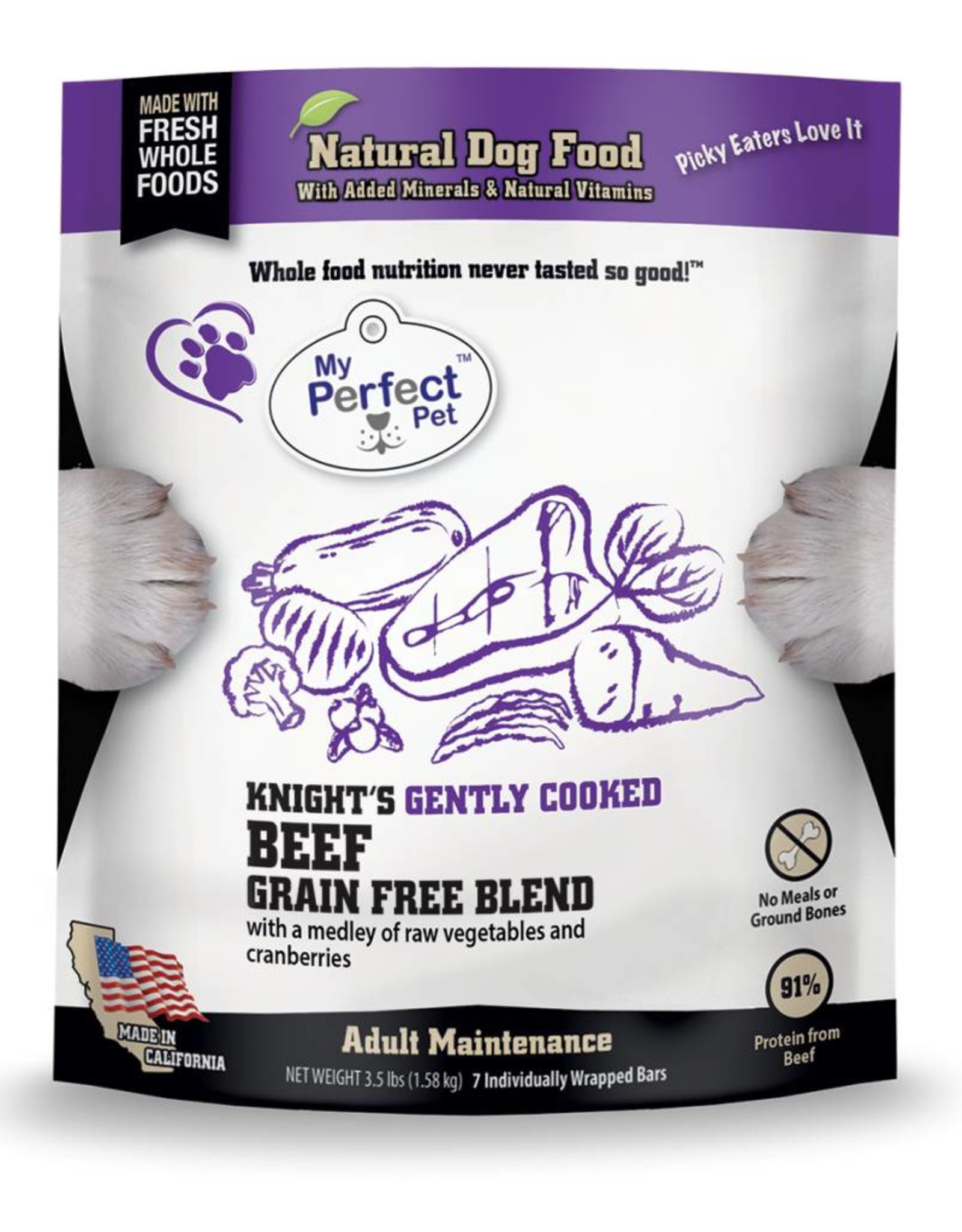 My Perfect Pet My Perfect Pet Knight's Blend 3.5lb