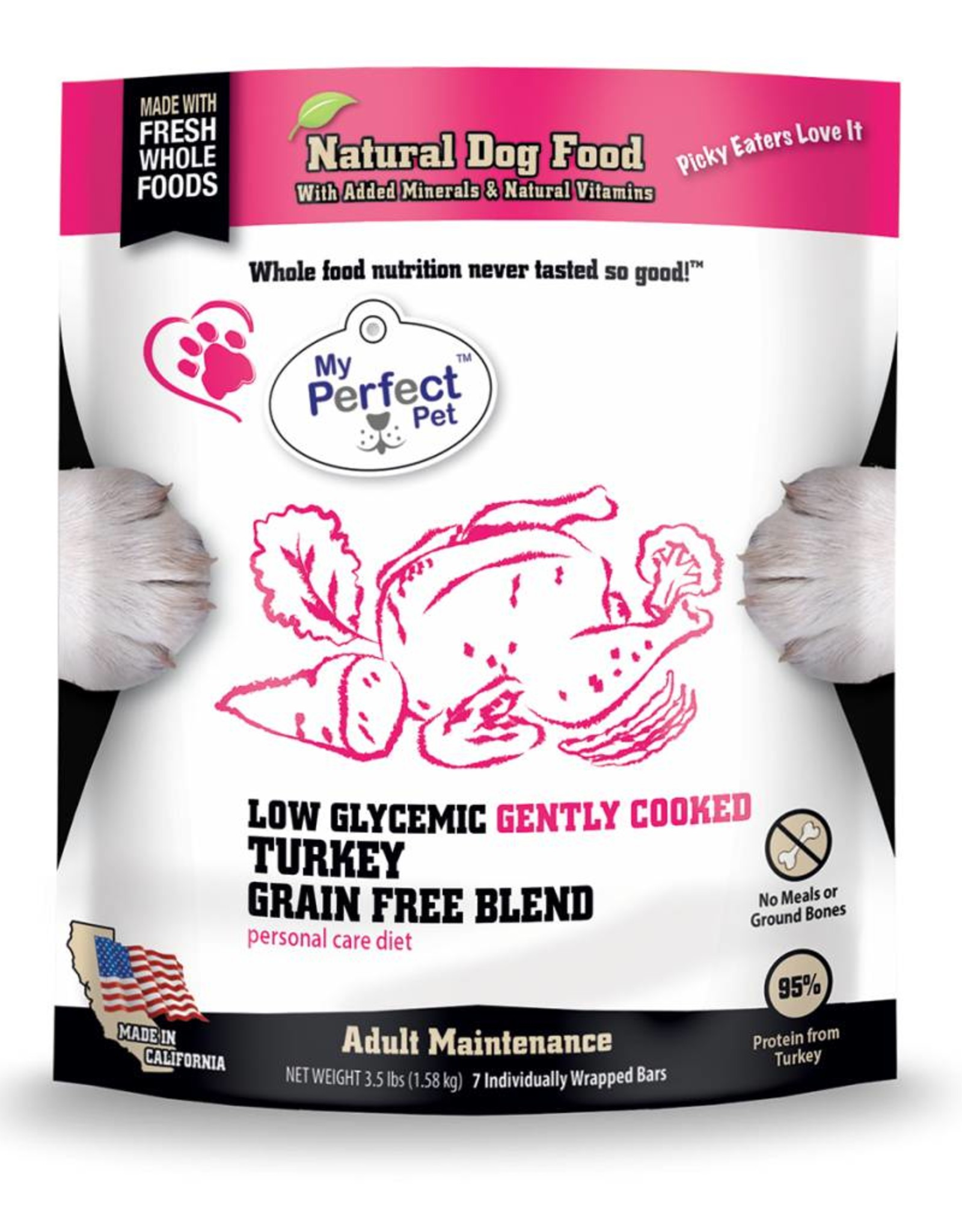 My Perfect Pet My Perfect Pet Low Glycemic Turkey 3.5lb