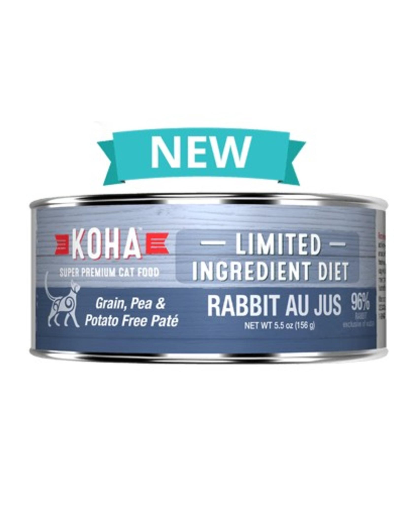 Koha Koha Limited Ingredient Rabbit Au Jus for Cats