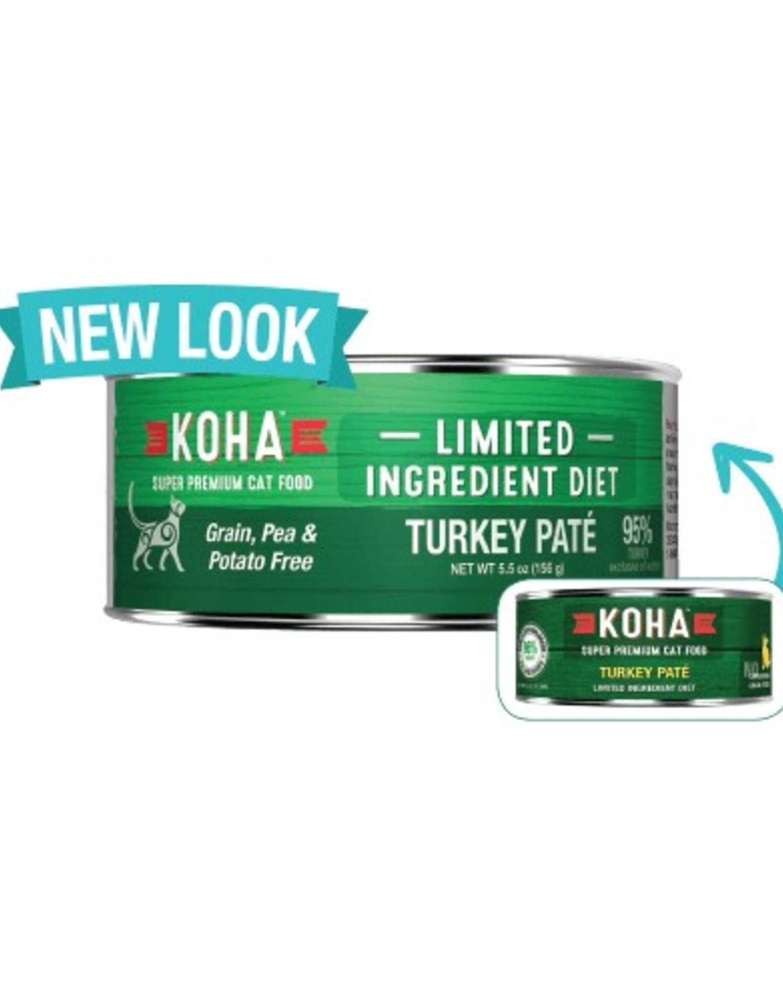 Koha Koha Limited Ingredient Turkey Pate for Cats