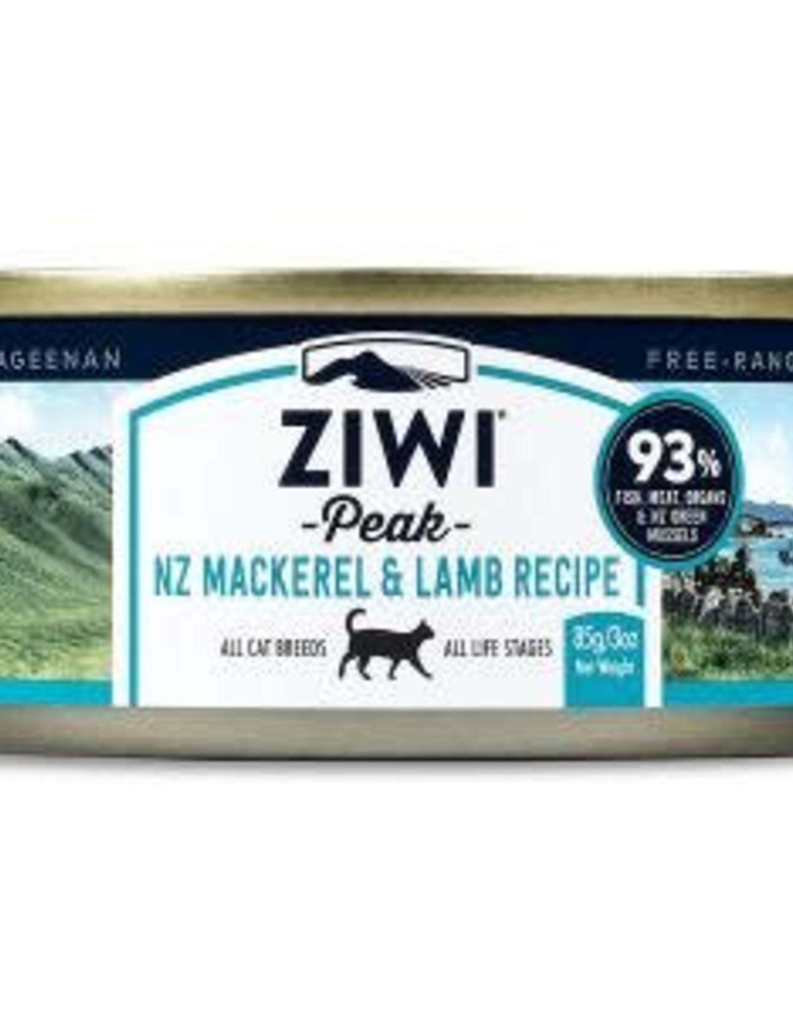 ZiwiPeak ZiwiPeak Mackerel & Lamb Pate for Cats