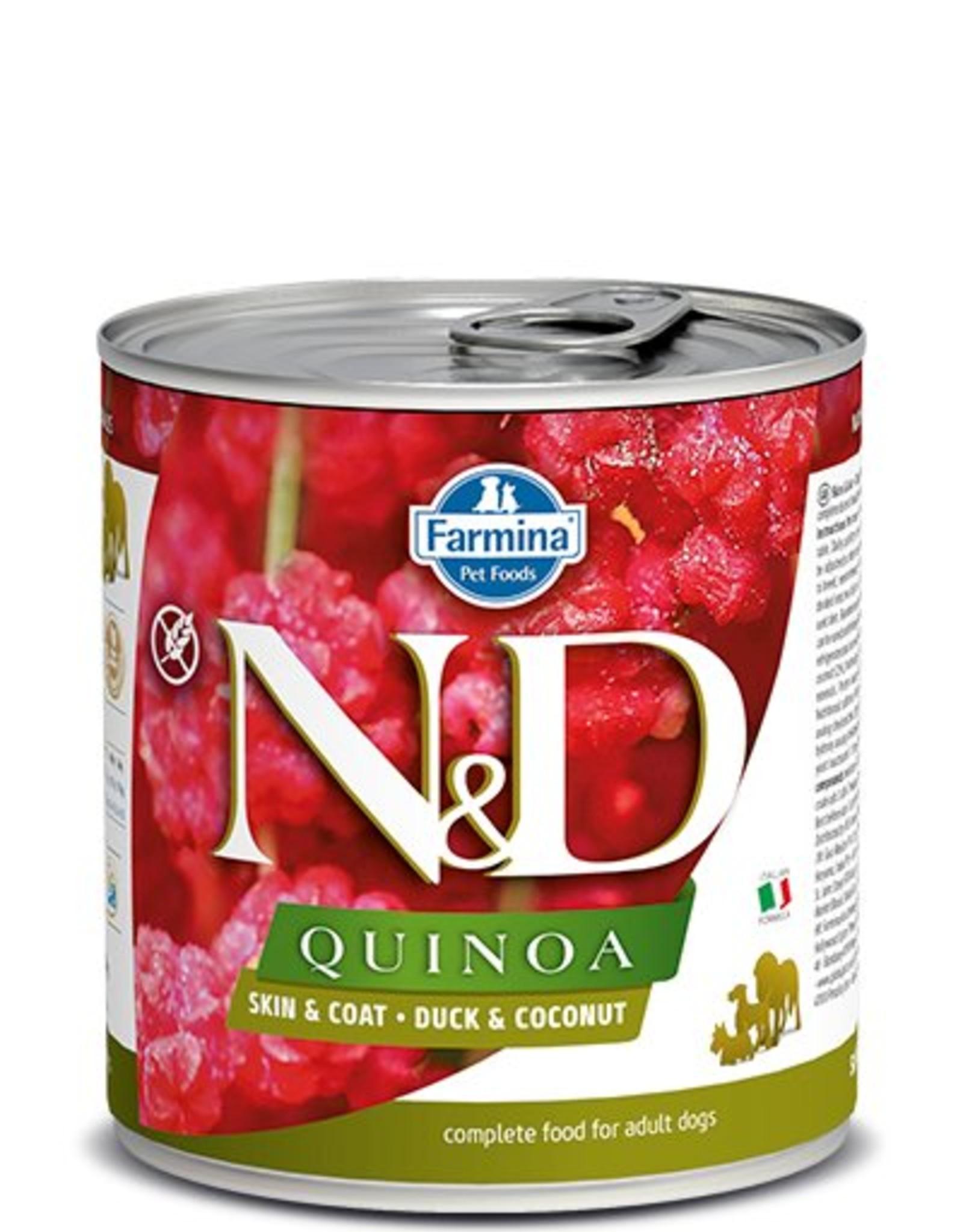 Farmina Farmina Dog N&D Quinoa - Duck Skin & Coat