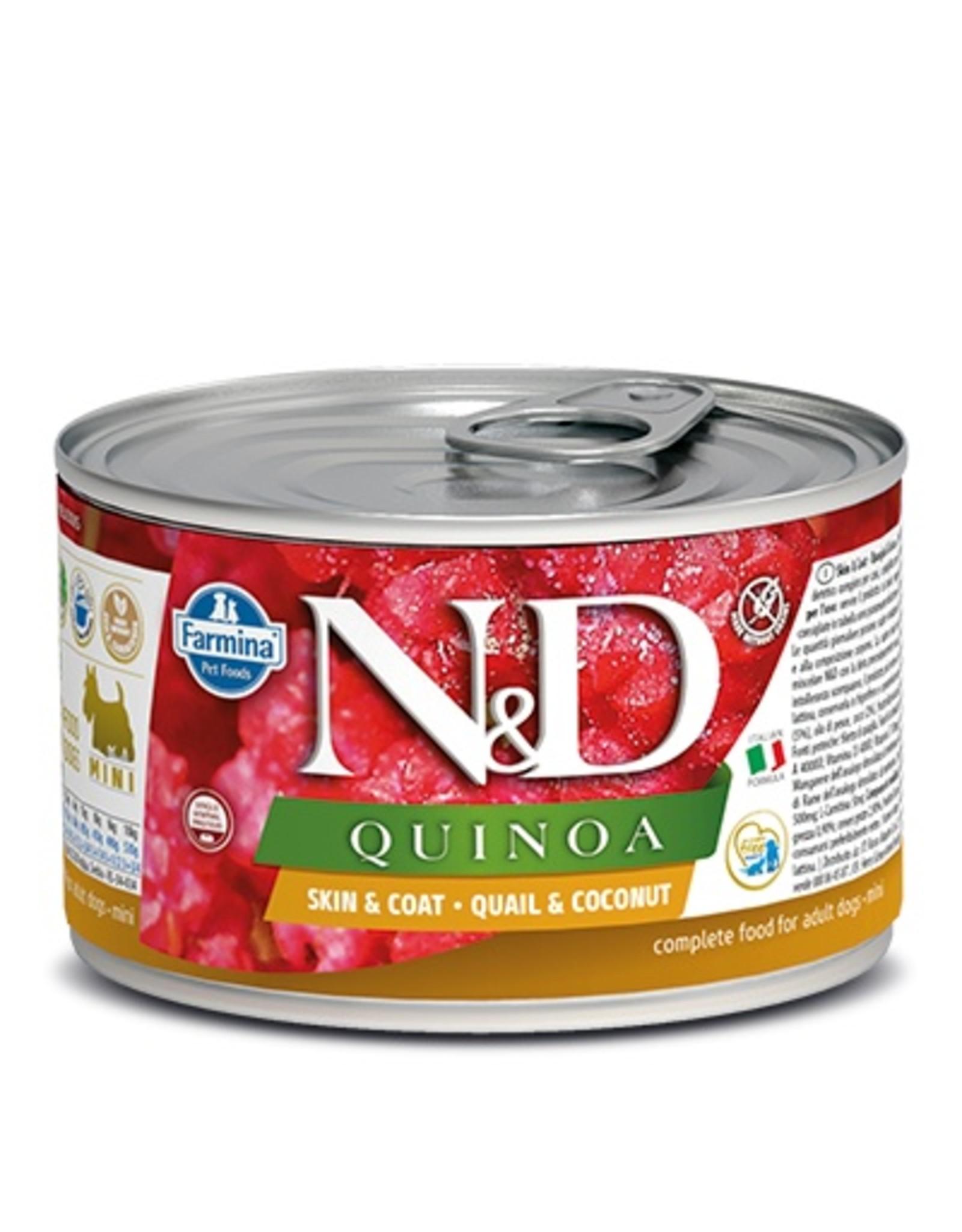 Farmina Farmina Dog N&D Quinoa - Quail Skin & Coat