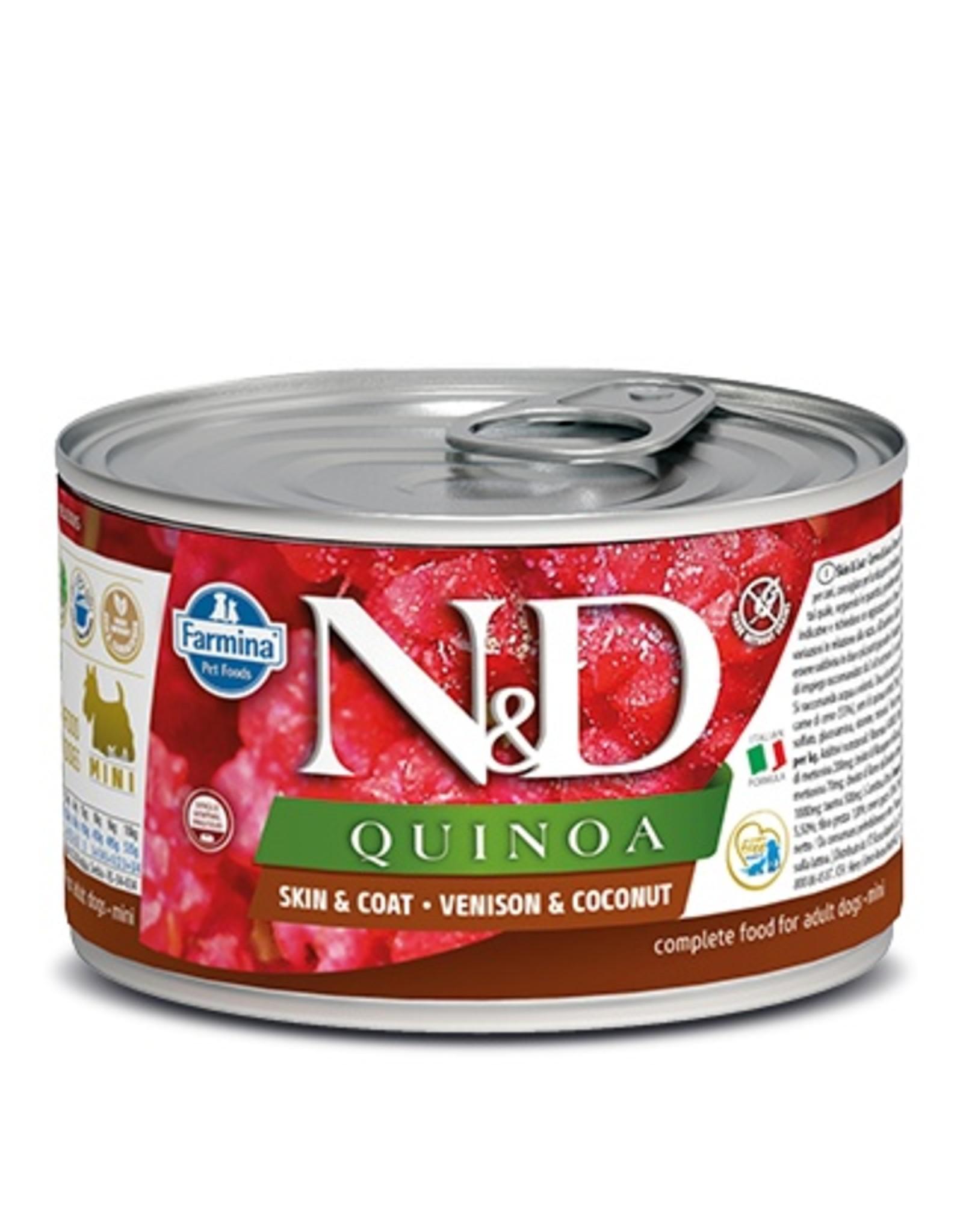 Farmina Farmina Dog N&D Quinoa - Venison Skin & Coat