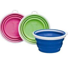 Bamboo Home Silicone Travel Bowl - Assorted Colors
