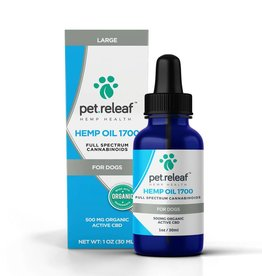 Pet Releaf Pet Releaf CBD Hemp Oil 500mg 1oz