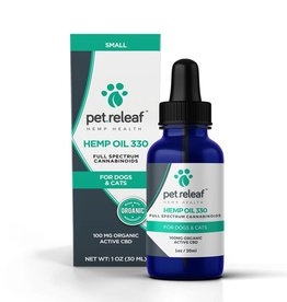 Pet Releaf Pet Releaf CBD Hemp Oil 330 (100mg Active CBD)