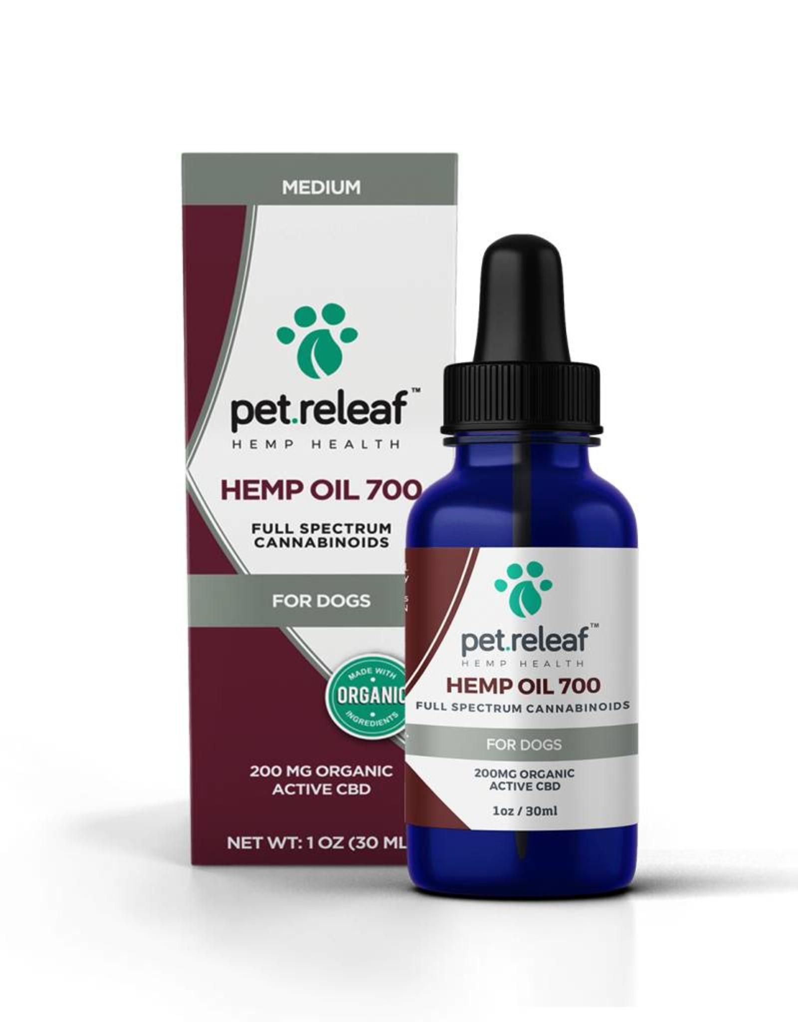 Pet Releaf Pet Releaf CBD Hemp Oil 700 (200mg Active CBD)