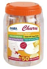 Inaba Ciao Cat Treats Ciao Churu Purees Chicken Recipes 50 Tubes