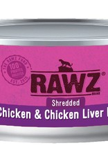 Rawz Rawz Cat Shredded Chicken & Chicken Liver