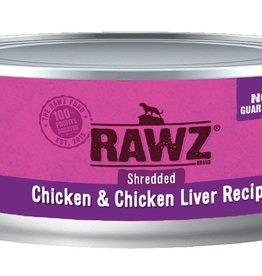 Rawz Rawz Cat Shredded Chicken & Chicken Liver